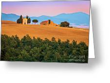 Val D'orcia Serenity Greeting Card