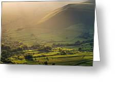Vale Of Edale Greeting Card