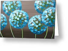 Valentine Alliums Greeting Card