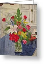 Valentine Bouquet Greeting Card