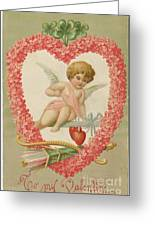 Valentine Design Four Greeting Card