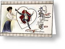 Valentines Day Card, 1909 Greeting Card