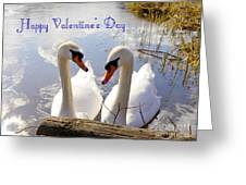 Valentine's Day Greeting Greeting Card