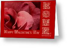 Valentines Day Love Greeting Card