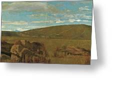Vallata A Castiglioncello Greeting Card