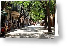 Valldemossa Street View Greeting Card
