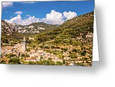 Valldemossa View From The Town Greeting Card