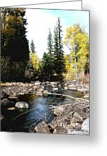 Vallecito Colorado I Greeting Card
