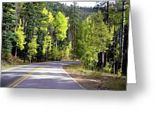 Vallecito Colorado Greeting Card