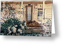 Valley Ford House Greeting Card by Donald Maier