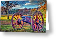 Valley Forge Canon Greeting Card