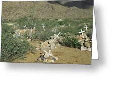 Valley Of Dead Men's Bones Greeting Card