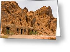 Valley Of Fire Cabins Greeting Card
