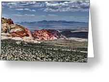 Valley Of Fire Iv Greeting Card