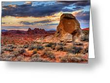 Valley Of Fire Greeting Card