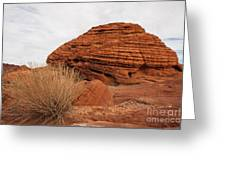 Valley Of Fire State Park Beehives Greeting Card