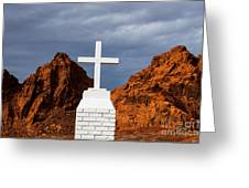 Valley Of Fire State Park Clark Memorial Greeting Card
