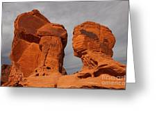 Valley Of Fire State Park Seven Sisters Greeting Card