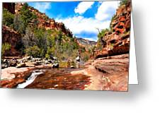 Valley Of Life Greeting Card