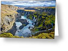 Valley Of Tears #2 - Iceland Greeting Card