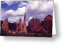 Valley Of The Gods 1964 Greeting Card