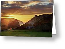 Valley Of The Rocks Greeting Card