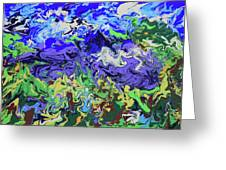 Valley Of The Singing Winds Greeting Card