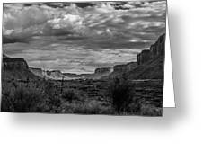Valley Greeting Card