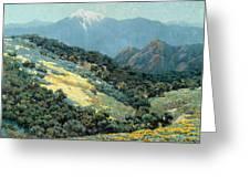Valley Splendor Greeting Card