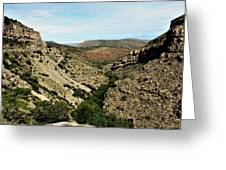 Valley View Of Whitesands Greeting Card