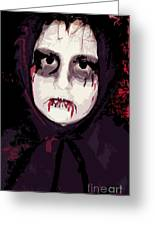 Vampire II Greeting Card