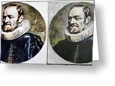 Van Dyck Nicholas Rockox Greeting Card