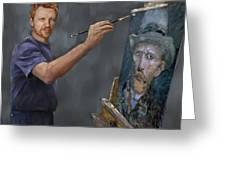 Van Gogh 2018 Greeting Card