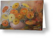 Van Gogh Again Greeting Card