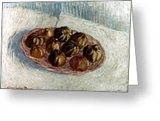 Van Gogh: Apples, 1887 Greeting Card