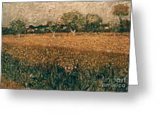 Van Gogh: Arles, 1888 Greeting Card