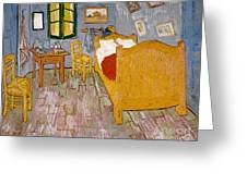Van Gogh: Bedroom, 1888 Greeting Card
