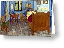 Van Gogh: Bedroom, 1889 Greeting Card