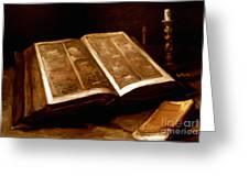 Van Gogh: Bible, 1885 Greeting Card