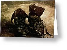 Van Gogh Boots 1886 Greeting Card