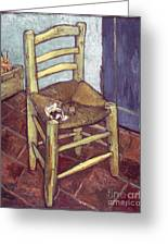 Van Gogh: Chair, 1888-89 Greeting Card