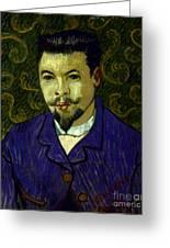Van Gogh: Dr Rey, 19th C Greeting Card