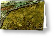Van Gogh: Field, 1890 Greeting Card