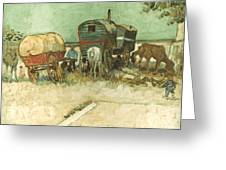 Van Gogh: Gypsies, 1888 Greeting Card