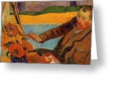 Van Gogh Painting Sunflowers 1888 Greeting Card