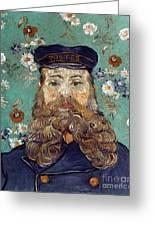 Van Gogh: Postman, 1889 Greeting Card
