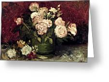 Van Gogh: Roses, 1886 Greeting Card