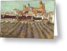 Van Gogh: Saintes-maries Greeting Card