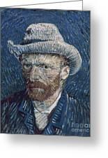 Van Gogh: Self-portrait Greeting Card