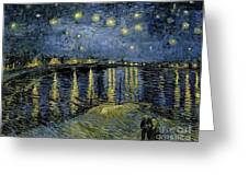 Van Gogh, Starry Night Greeting Card